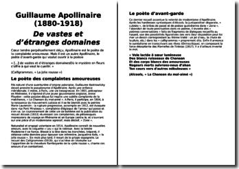 Une biographie de Guillaume Apollinaire (1880-1918) : De vastes et d'étranges domaines