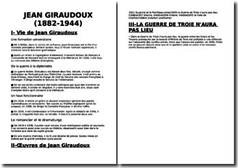 Une biographie de Jean Giraudoux (1882-1944)