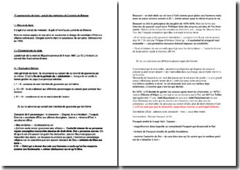 Commentaires de 2 textes : extrait des mémoires de Loménie de Brienne et la tenue des grands jours d'Auvergne