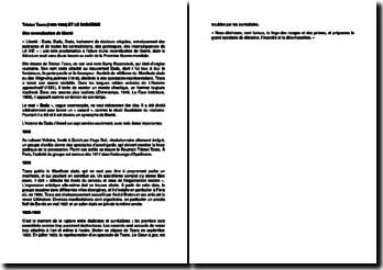 Une biographie de Tristan Tzara (1896-1963) et la dadaïsme : Une revendication de liberté