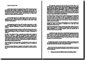 Commentaire d'arrêts de la Cour de cassation du 24 mars 1987 et du 13 janvier 1988 : l'erreur d'une oeuvre d'art
