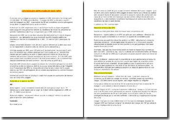 Les règles applicables aux services publics industriels et commerciaux