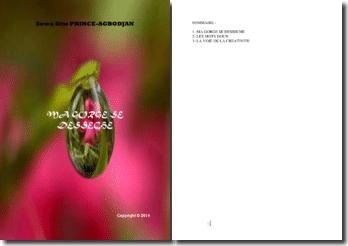 Recueil de poésies : Ma gorge se dessèche
