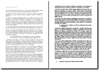 Commentaire d'arrêt de la Chambre commerciale de la Cour de cassation du 19 février 2013 : le bénéfice de subrogation pour défaut de déclaration