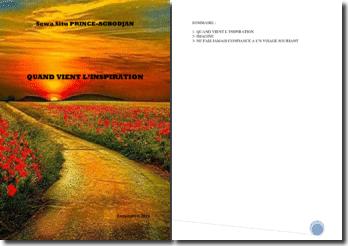 Recueil de poésies : Quand vient l'inspiration