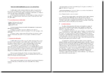 Notes sur le traité de philosophie Apprendre à vivre de Luc Ferry