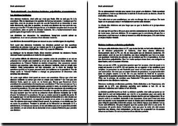 Les décisions incidentes, préjudicielles, et constatatoires (Suisse)