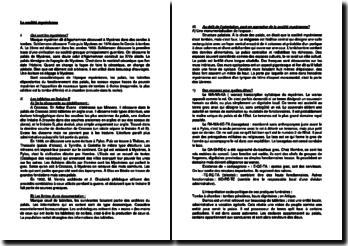 La société mycénienne (XIIIe siècle avant J.-C.)