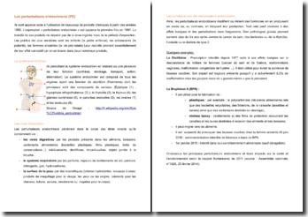 Les perturbateurs endocriniens (PE)