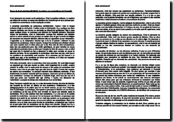 Cours de droit administratif (2014) : la saisine non contentieuse de l'autorité