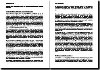 Cours de droit administratif (2014) : la procédure administrative - aspects particuliers