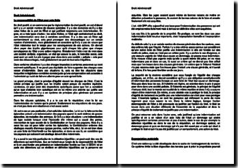 La responsabilité de l'Etat pour acte licite (Suisse)