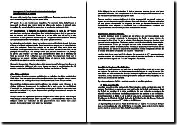 Les organes de l'ancienne Confédération helvétique : Les caractères de la Suisse
