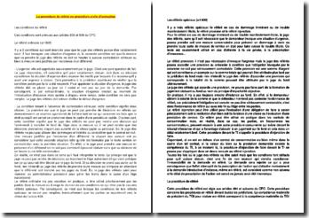 La procédure de référé en procédure civile d'exécution : Les conditions du référé