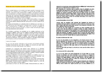 Histoire des voies d'exécution (procédure civile d'exécution)