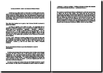 Le Liseur de Schlink - Extrait : Les lectures de Mickael à Hanna
