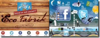 La représentation d'Eco-Fabrik dans les résaux sociaux : social or not social ??