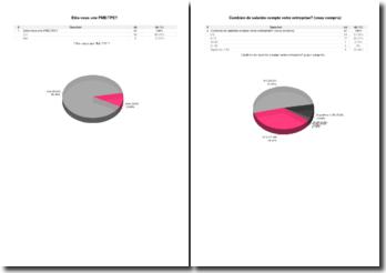Test statistique sur la mobilité des PME