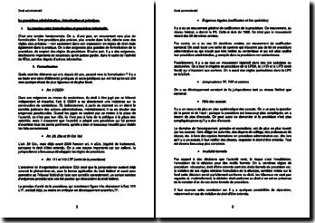 La procédure administrative : Introduction et principes