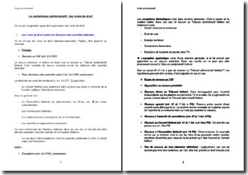Le contentieux administratif : les voies de droit (suisse)