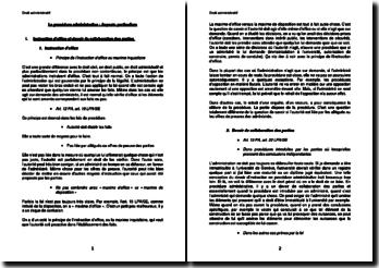 La procédure administrative : Aspects particuliers (suisse)
