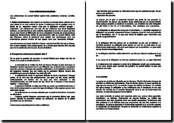 Les ordonnances (suisse)