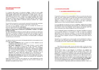 Le service public à la française et le droit communautaire