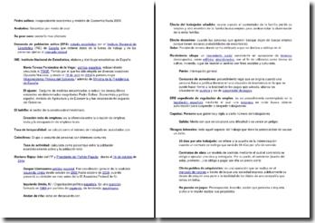 Vocabulaire espagnol de civilisation espagnole