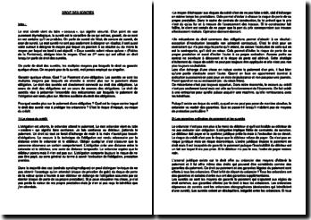 Le droit des sûretés, matière auxiliaire du droit des obligations