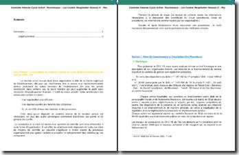 L'évaluation du contrôle interne du cycle Achats-fournisseurs au sein du CHU - Fès