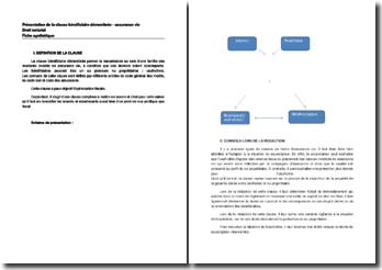 Présentation de la clause bénéficiaire démembrée - assurance vie