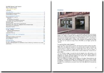 Rapport de stage en entreprise effectué à l'agence Allianz de Rouen