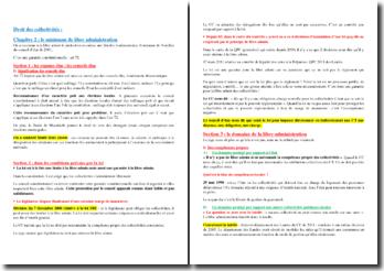 Droit des collectivités : le minimum de libre administration