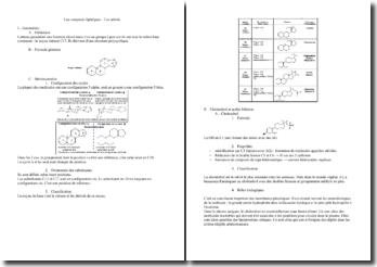 Les composés lipidiques - Les stérols