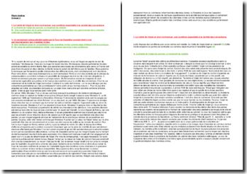 Commentaire d'arrêt de la Cour de cassation du 7 novembre 2000 : La licéité de l'objet en matière contractuelle