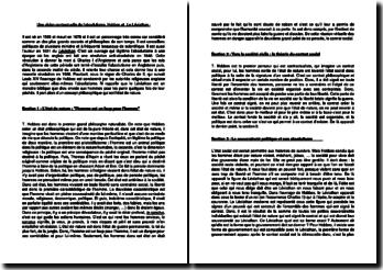 Une vision contractuelle de l'absolutisme, Hobbes et Le Léviathan
