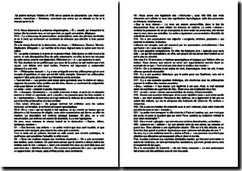 Le désastre de Lisbonne - Voltaire, 1756