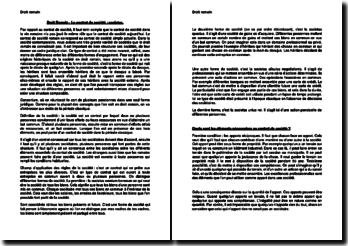 Le contrat de société : societas en Droit Romain