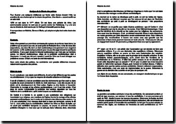 Analyse de la Charte des prêtres de 1370 (Suisse)
