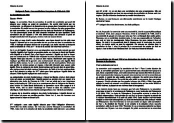 Les constitutions françaises de 1793 et de 1795
