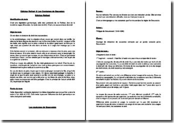 Edictus Rothari et Les Coutumes de Bauvaisis