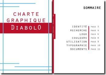 Logo et Charte graphique : le concept Diabolo