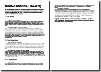 Une biographie de Thomas Hobbes (1588-1679)