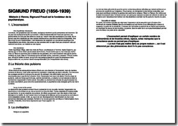 Une biographie de Sigmund Freud (1856-1939)
