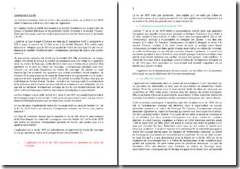 Commentaire d'arrêt de la Troisième Chambre civile de la Cour de cassation du 9 mai 2012 : l'absence d'effet lors d'un refus de l'agrément