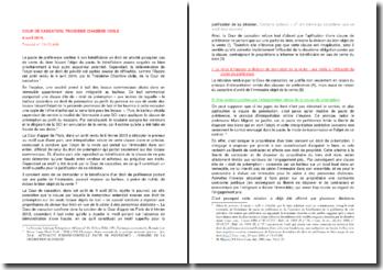 Commentaire d'arrêt de la Troisième Chambre civile de la Cour de cassation du 9 avril 2014 : le refus d'imposer la division du bien objet de la vente