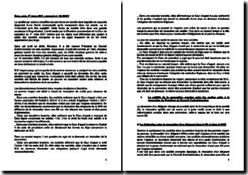 Commentaire d'arrêt de la Chambre commerciale de la Cour de cassation du 1er mars 2011 : la révocation d'un dirigeant d'entreprise