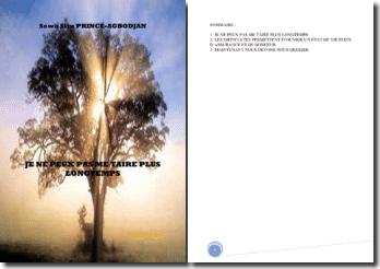 Recueil de poèmes : Je ne peux pas me taire plus longtemps