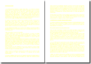 Commentaire d'arrêt de la Première Chambre civile de la Cour de cassation du 28 février 1995 : la communauté des biens