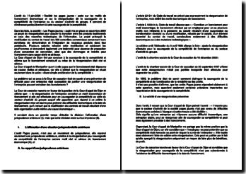 L'arrêt du 11 juin 2006 « Société les pages jaunes » relatif au plan de licenciement de l'entreprise